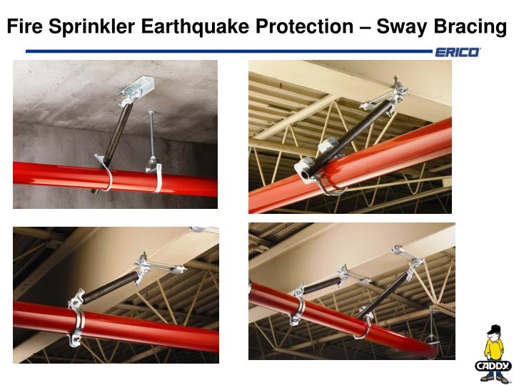 fire sprinkler earthquake protection sway bracing n.