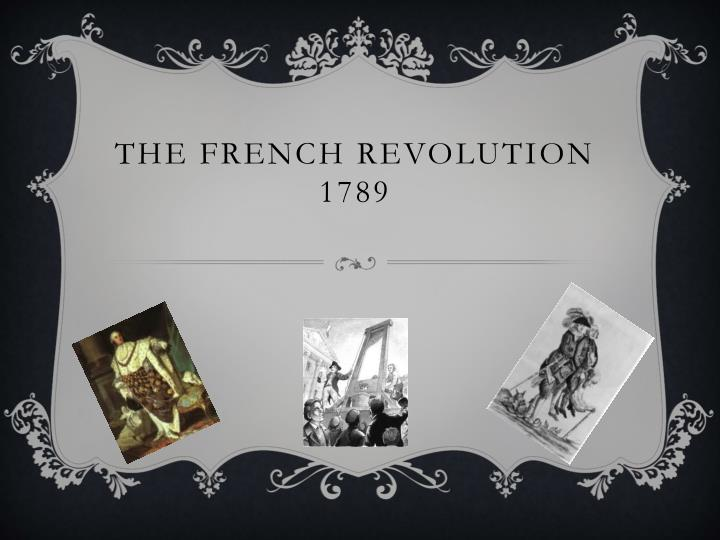the french revolution 1789 n.