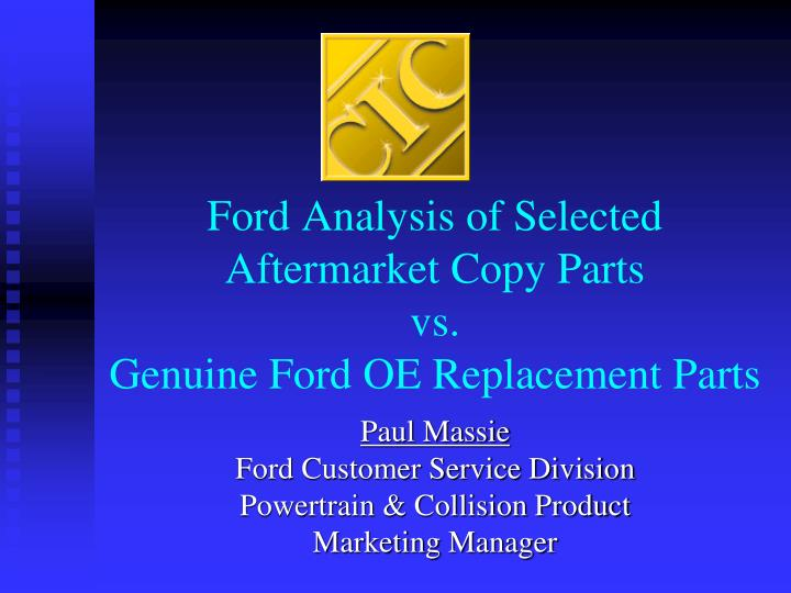 analysis of ford