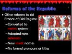reforms of the republic2