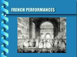 french performances