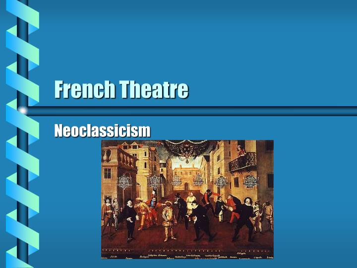 french theatre n.