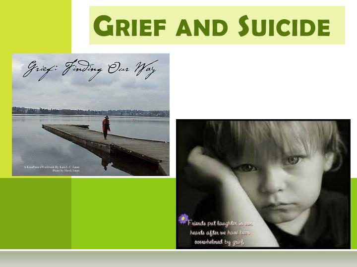 grief and suicide n.
