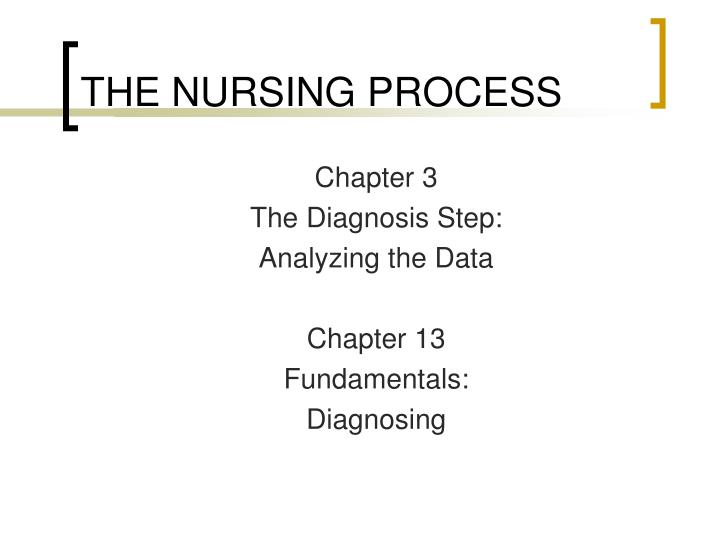 the nursing process n.