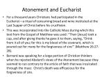 atonement and eucharist