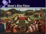 ghent s altar piece
