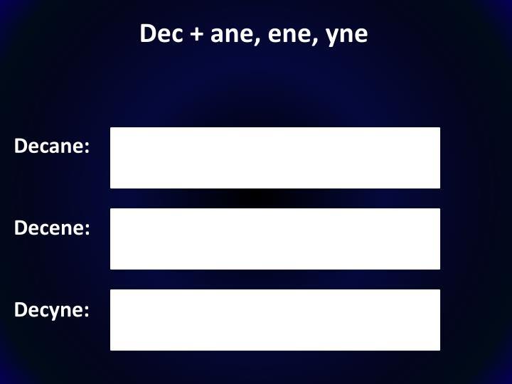 Dec +