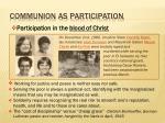 communion as participation1