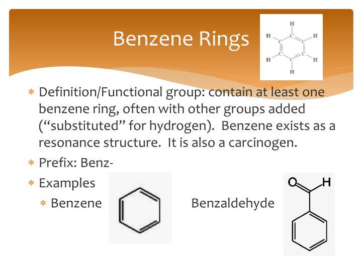 Benzene Rings