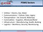 pswg sectors
