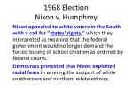 1968 election nixon v humphrey