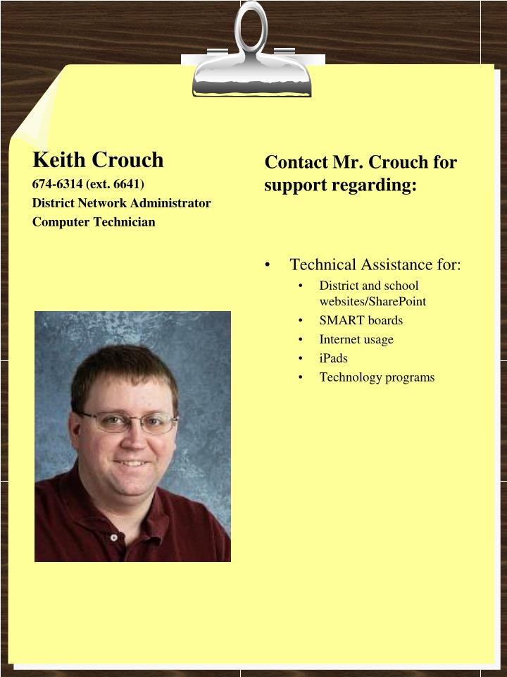 Keith Crouch