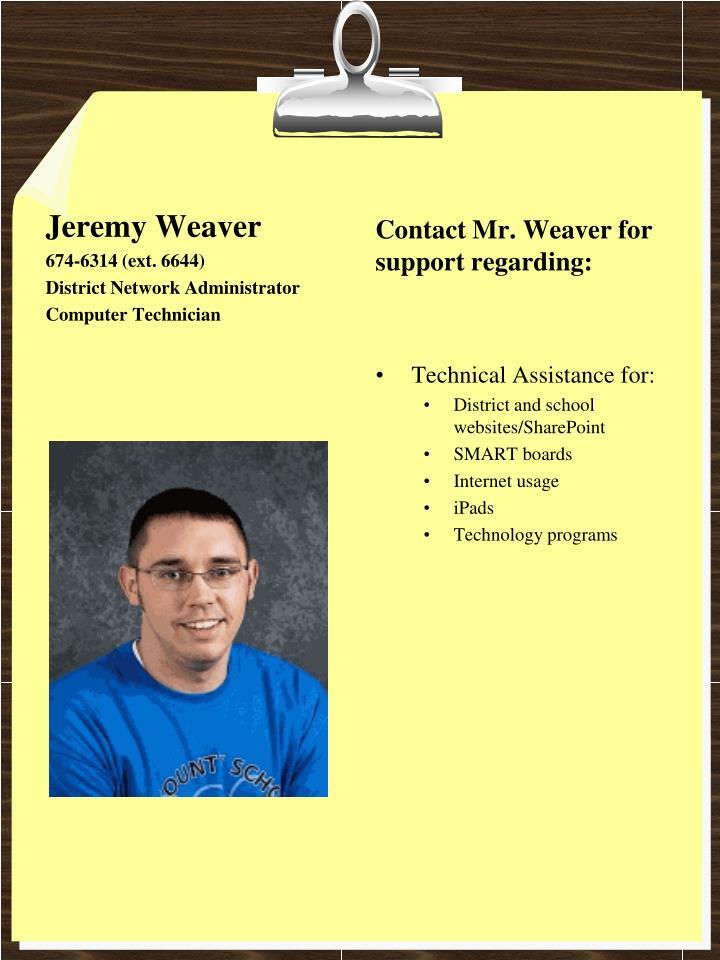 Jeremy Weaver