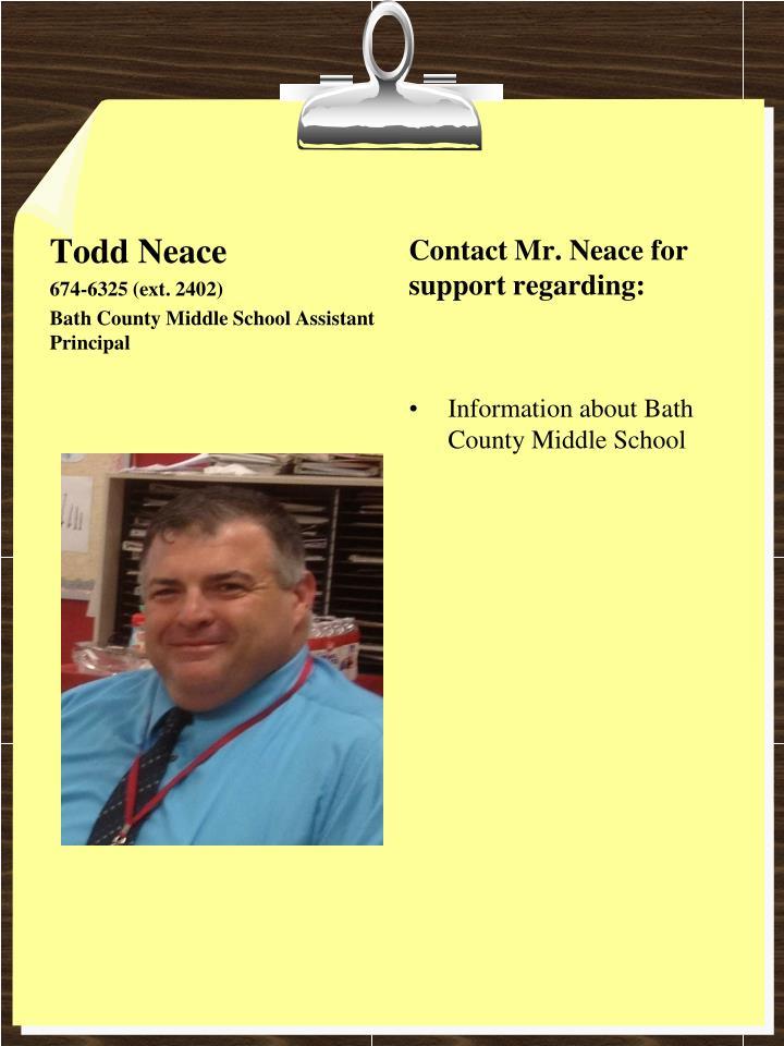 Todd Neace
