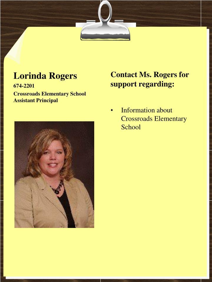 Lorinda Rogers