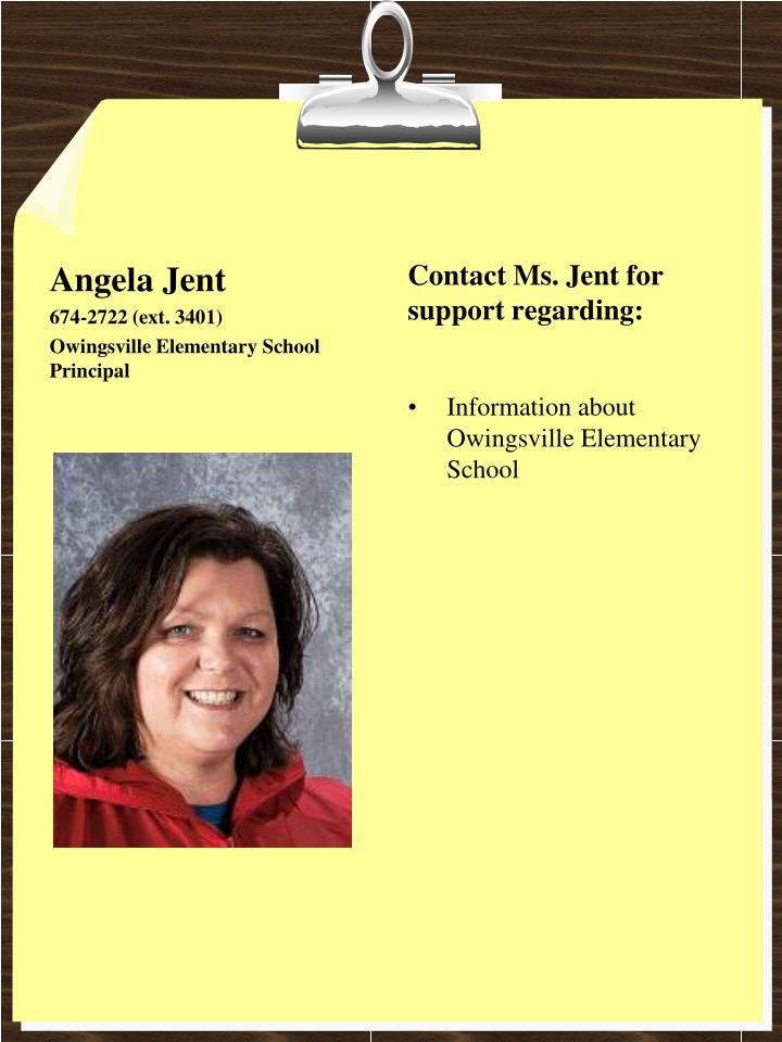 Angela Jent