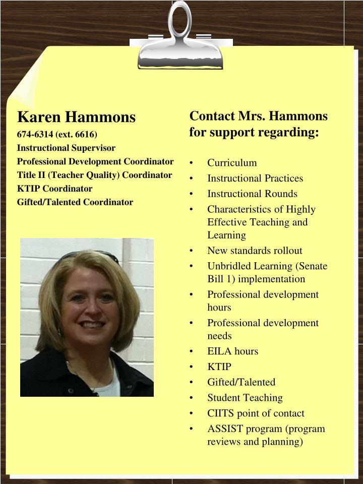 Karen Hammons