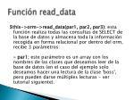 funci n read data