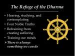 the refuge of the dharma