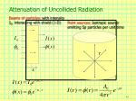 attenuation of uncollided radiation2