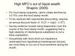 high mpc s out of liquid wealth shapiro 2005
