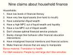 nine claims about household finance6
