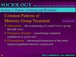 common patterns of minority group treatment1
