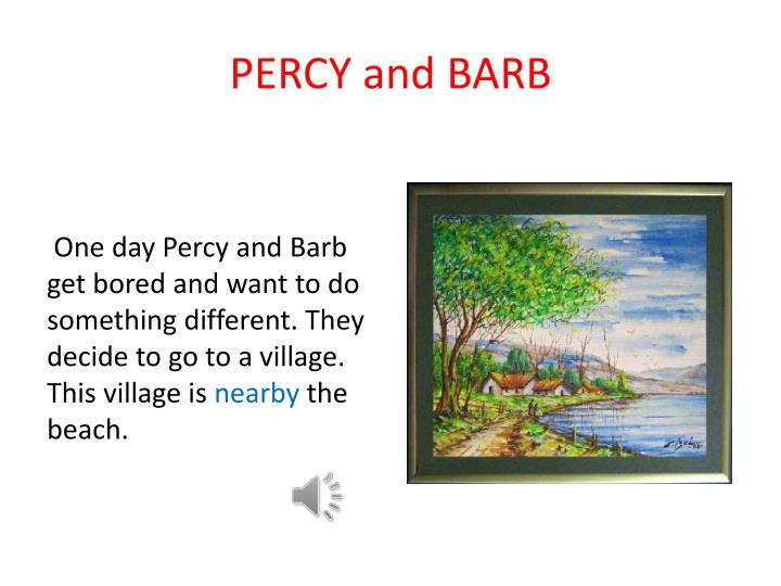 percy and barb n.