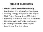 project guidelines1