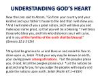 understanding god s heart