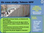 un case study tekeze hpp