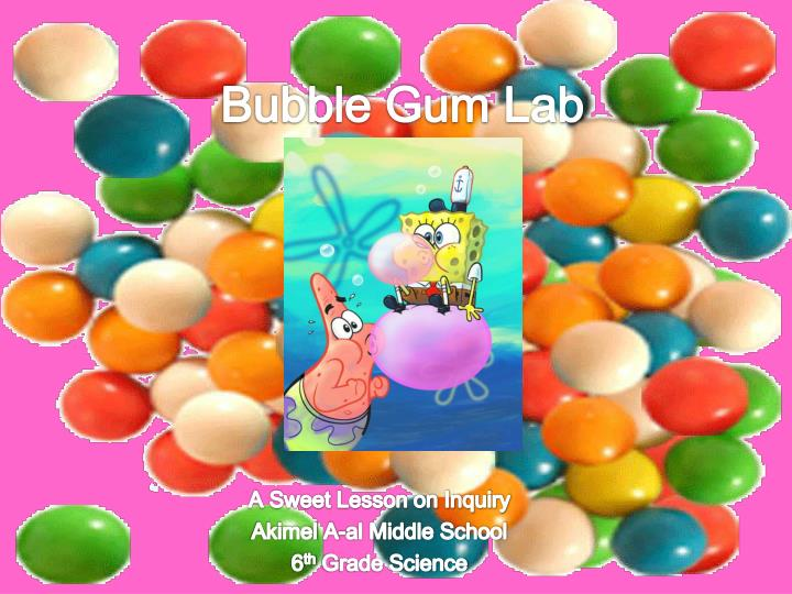 bubble gum lab n.