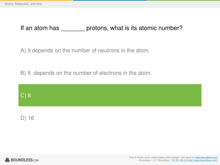 Atoms, Molecules, and Ions