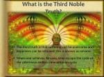 what is the third noble truth