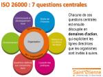iso 26000 7 questions centrales