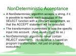 nondeterministic acceptance