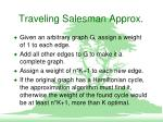 traveling salesman approx4