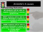 aristotle s 4 causes