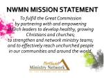 nwmn mission statement