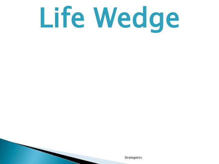 Life Wedge