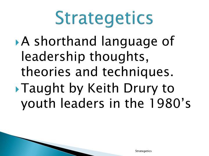 Strategetics