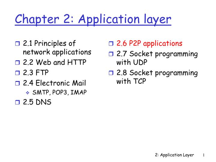 chapter 2 application layer n.