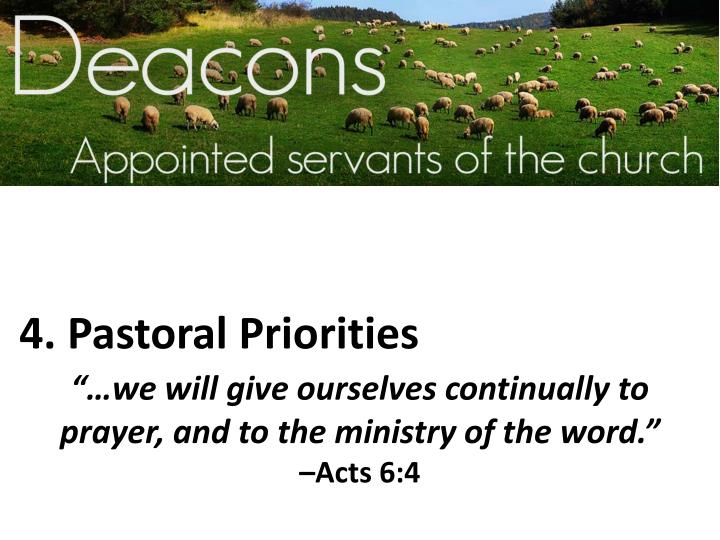 4. Pastoral