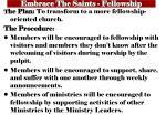 embrace the saints fellowship