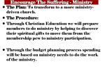 encourage the suffering ministry