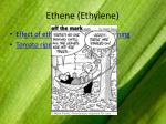 ethene ethylene