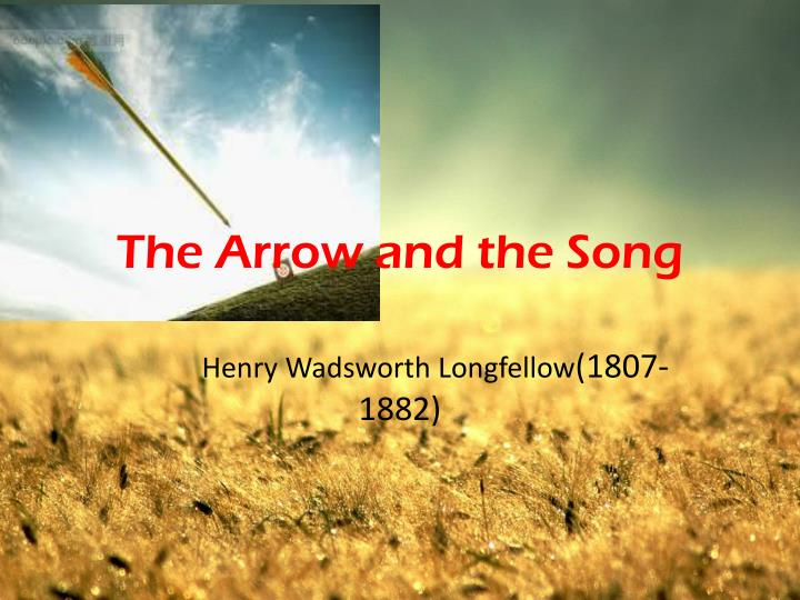 the arrow and the song n.