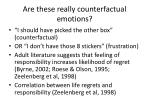 are these really counterfactual emotions1