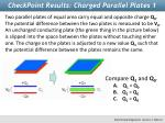 checkpoint results charged parallel plates 1