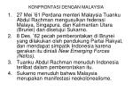 konfrontasi dengan malaysia
